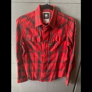 G-Star Shirt with Zipper